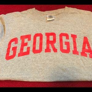 Small UGA Georgia T-shirt size Small